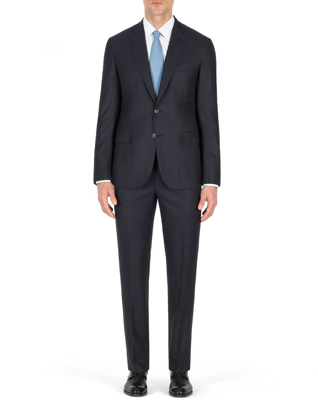 BRIONI Navy Blue Madison Suit Suits & Jackets Man r