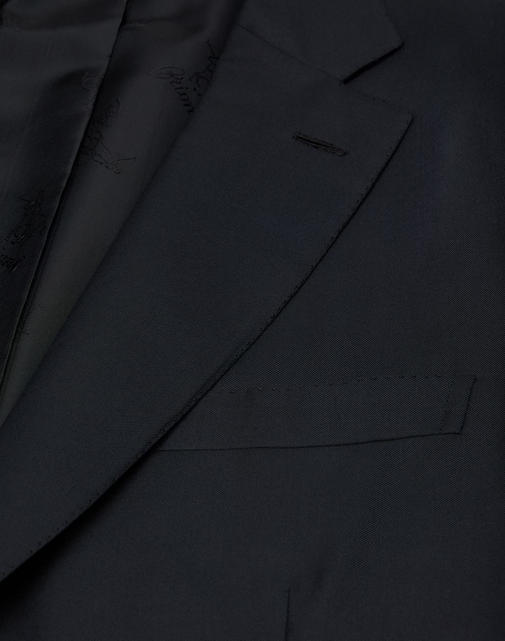 BRIONI 'Essential' Black Brunico Suit Suits & Jackets [*** pickupInStoreShippingNotGuaranteed_info ***] a