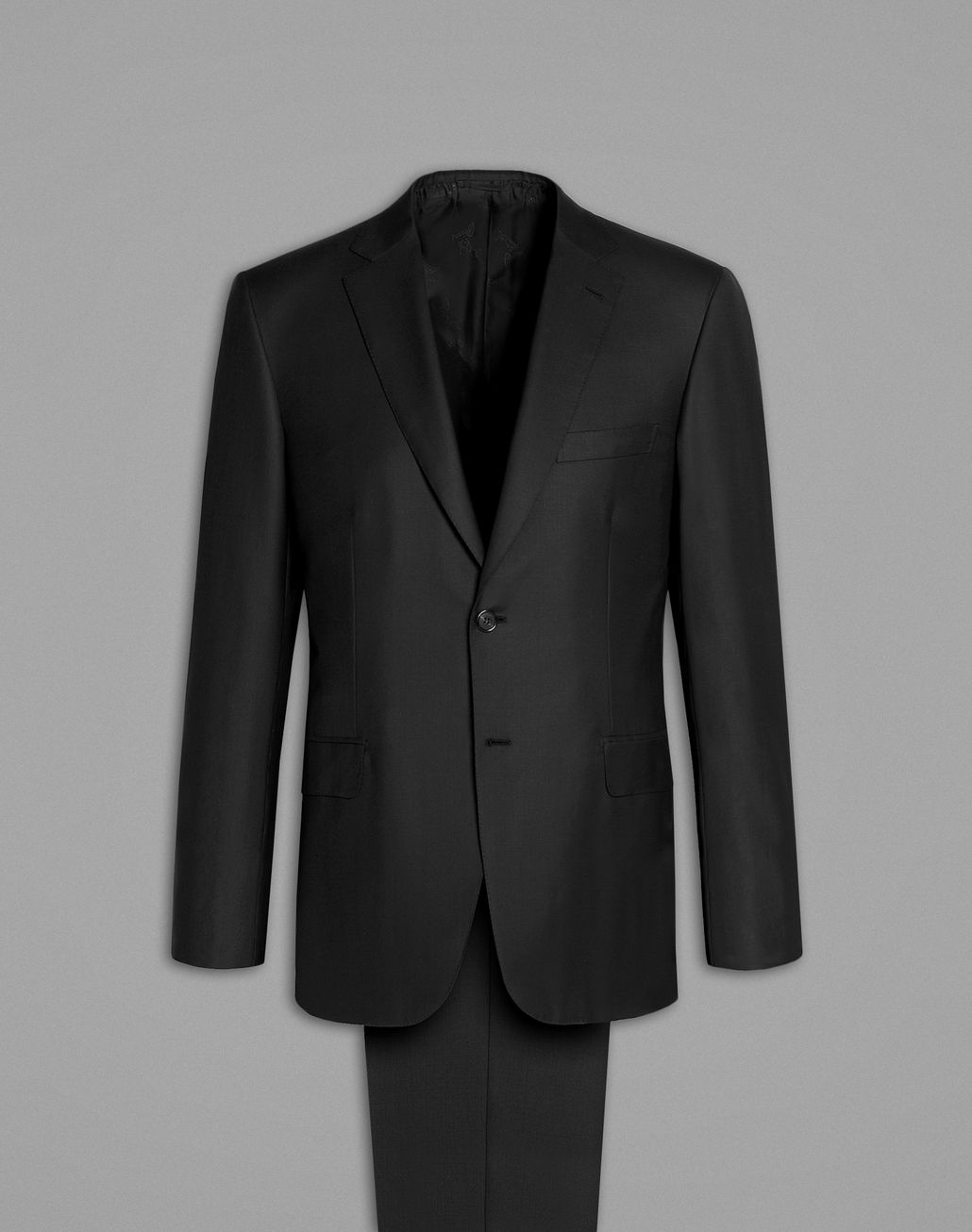 BRIONI 'Essential' Black Brunico Suit Suits & Jackets [*** pickupInStoreShippingNotGuaranteed_info ***] f