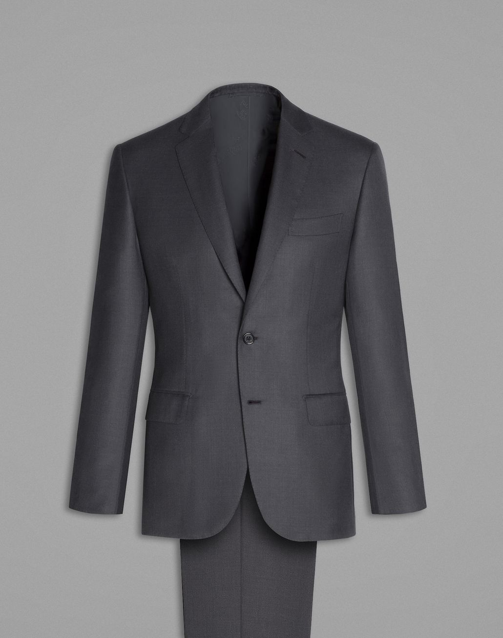 BRIONI Charcoal Madison Suit Suits & Jackets Man f