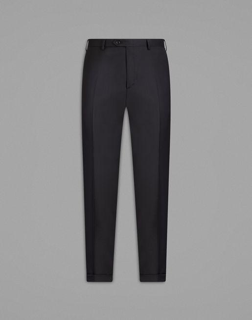 BRIONI Knitwear U Black Turtle-Neck Ribbed Sweater f