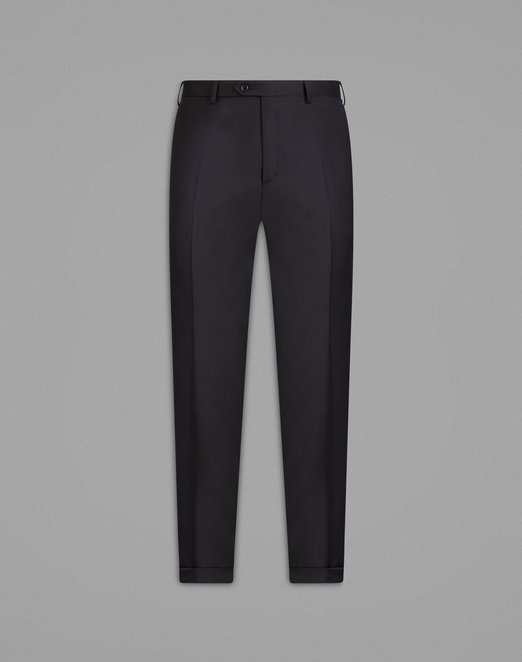 BRIONI  'Essential' Black Tigullio Trousers Trousers Man f