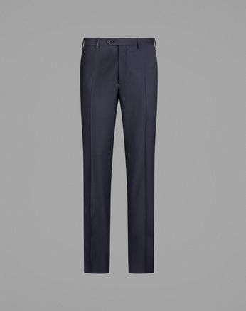 'Essential' Navy Blue Tigullio Trousers