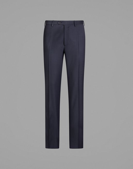 Navy Blue Tigullio Pants