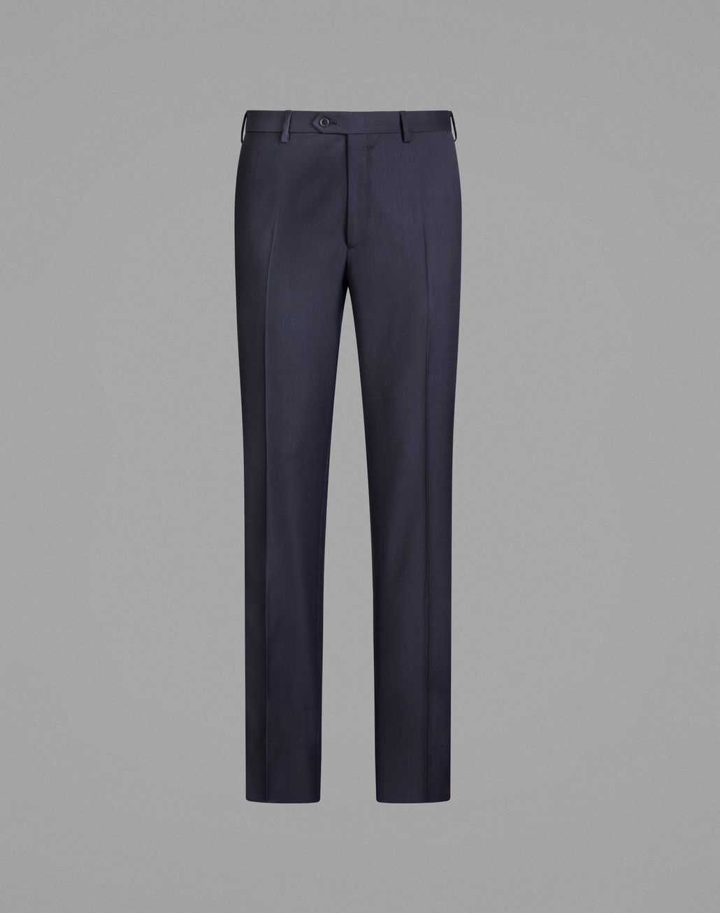 BRIONI  'Essential' Navy Blue Tigullio Trousers Trousers Man f