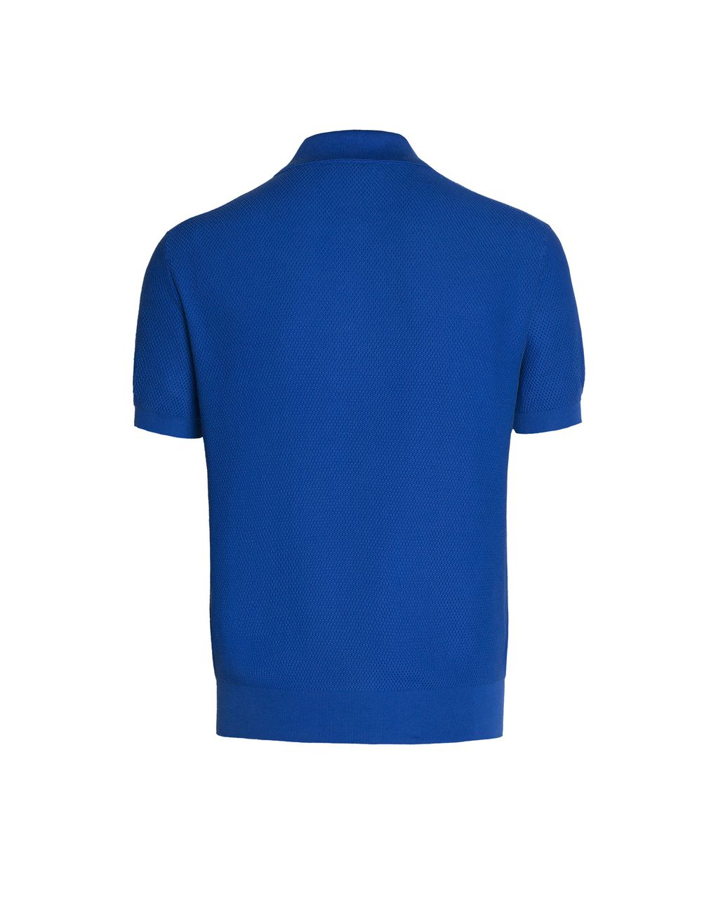 BRIONI Bluette Three Button Polo Shirt T-Shirts & Polos U d
