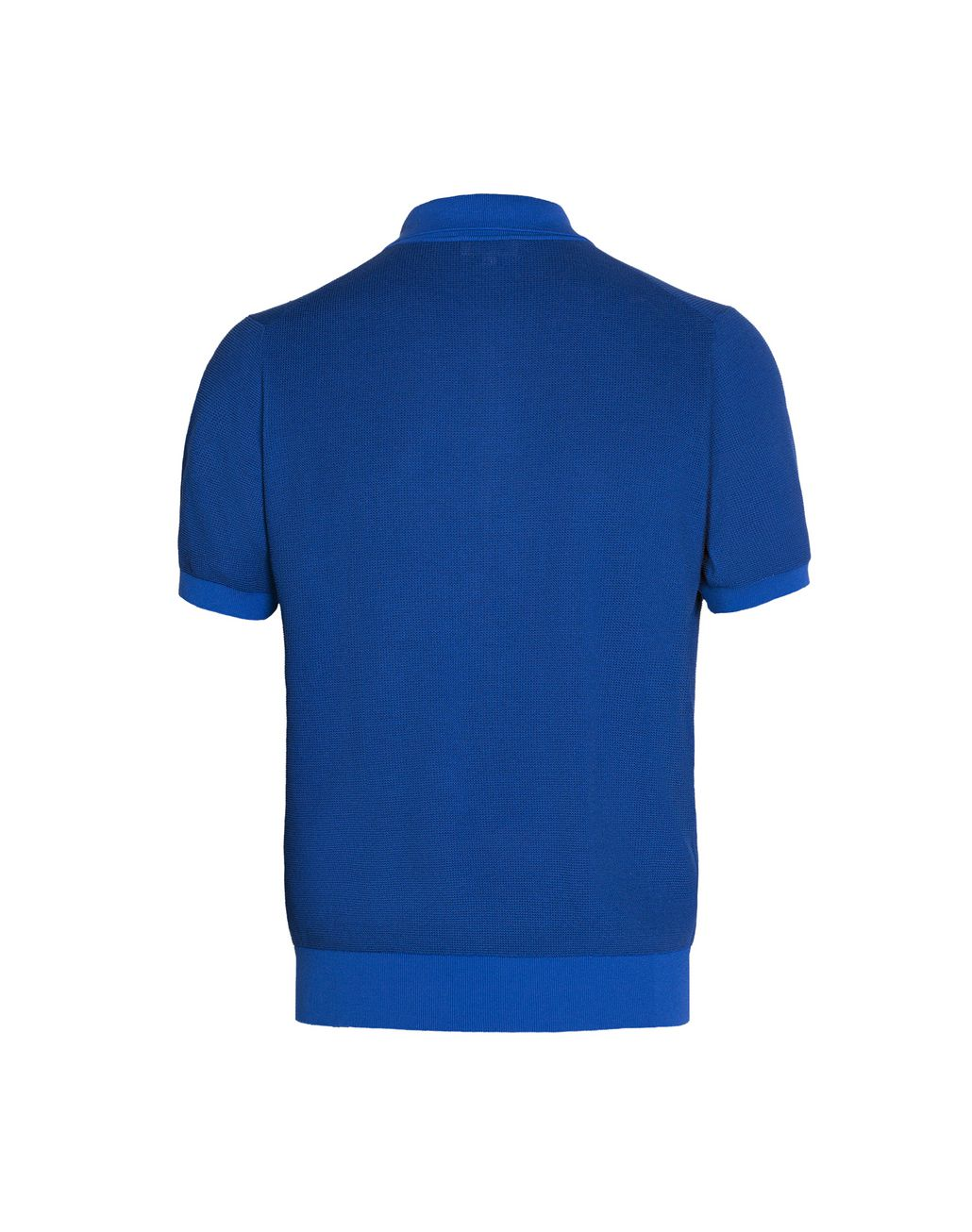 BRIONI Bluette Zipped Polo Shirt T-Shirts & Polos Man d