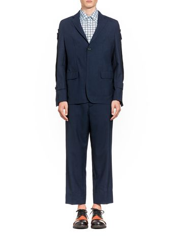 Marni Jacket in two-ply cool wool Man