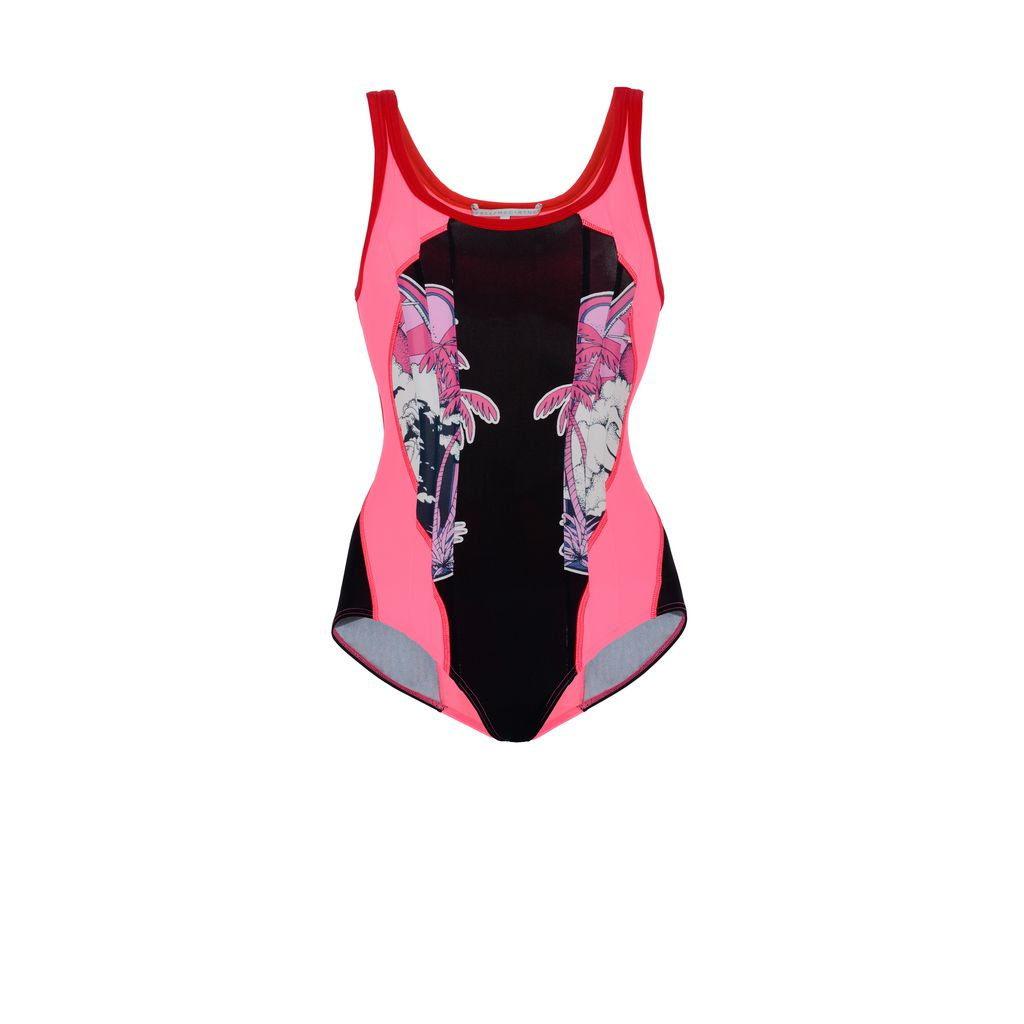 Amily Bodysuit in Red and Pink - STELLA MCCARTNEY
