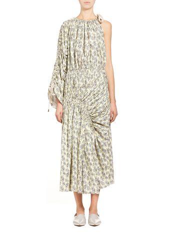Marni Runway dress in coated poplin Posy  Woman