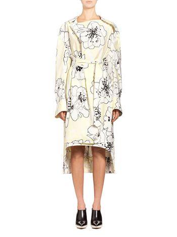 Marni Runway tunic in coated poplin Posy Woman