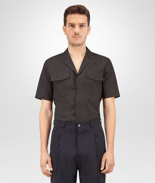 SHIRT IN NERO ORGANIC COTTON