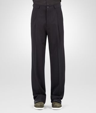 PANT IN NERO WOOL GABARDINE