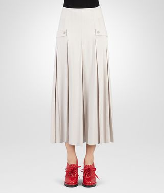 SKIRT IN MIST FLUID SILK