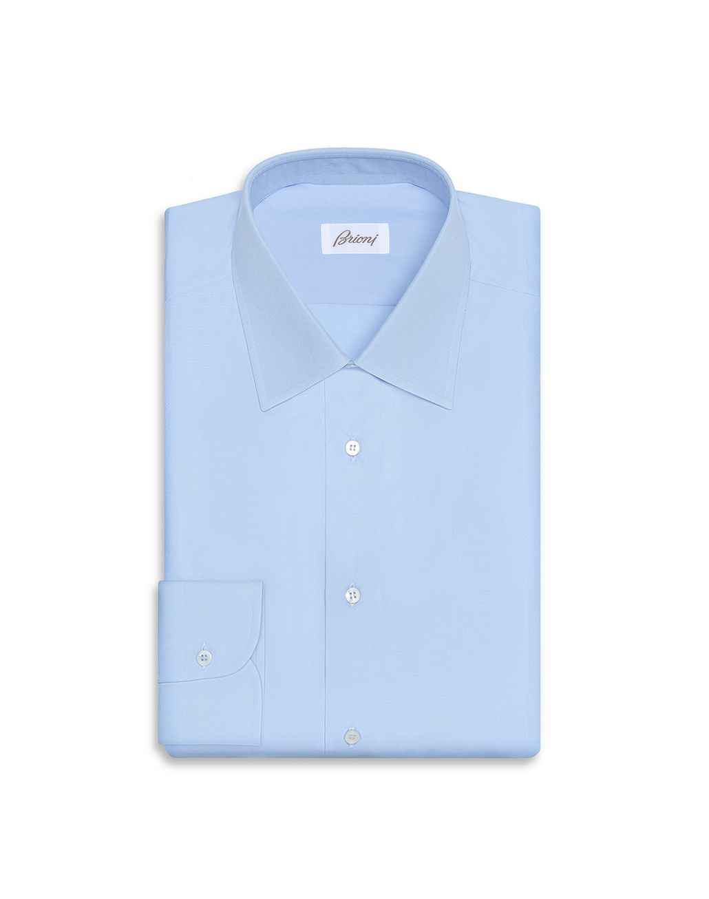 BRIONI Light Blue Formal Comfort Shirt Formal shirt Man f