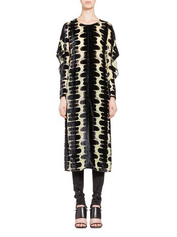 Marni Devoré dress Onrushing Shadow Woman