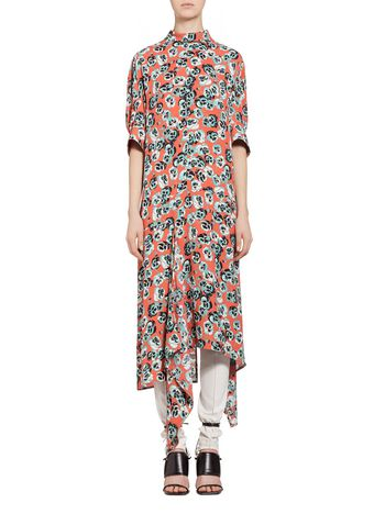 Marni Viscose dress Poetry Flower Woman