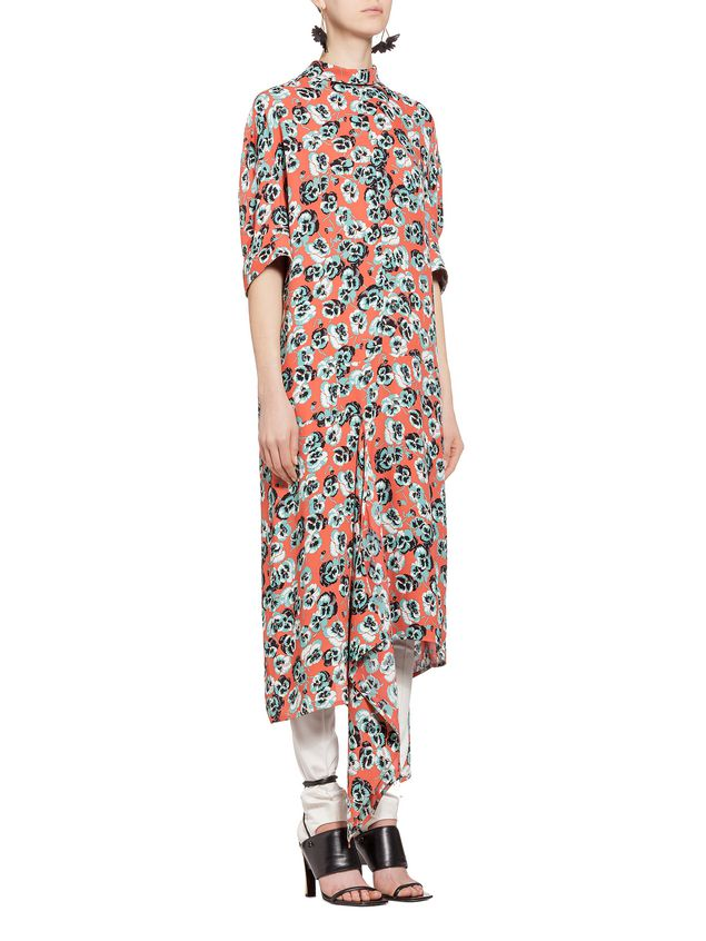 Marni Viscose dress Poetry Flower Woman - 5