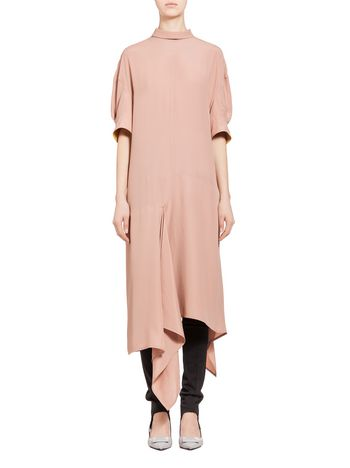 Marni Dress in washed silk acetate Woman