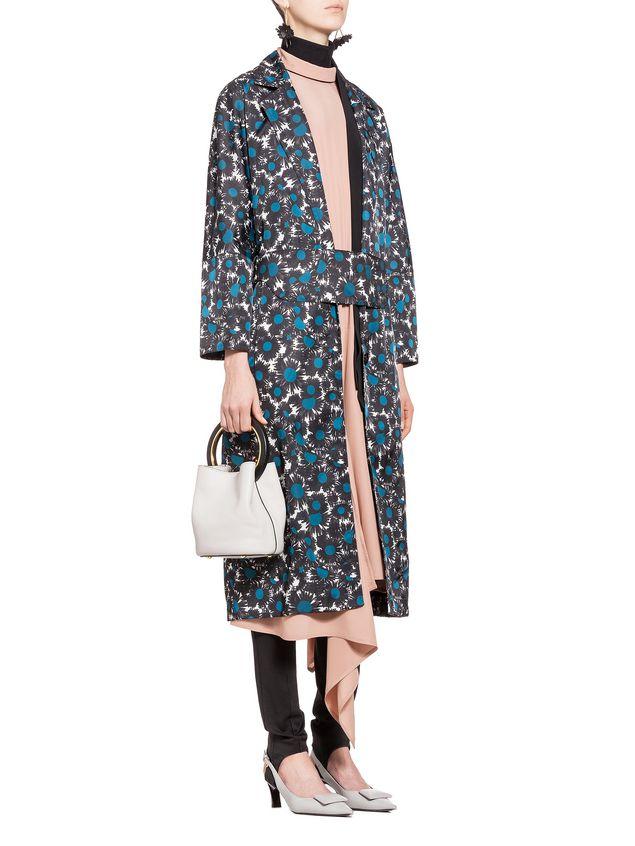 Marni Dress in washed silk acetate Woman - 5