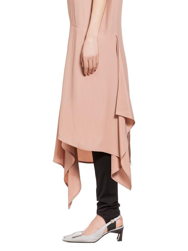 Marni Dress in washed silk acetate Woman - 4