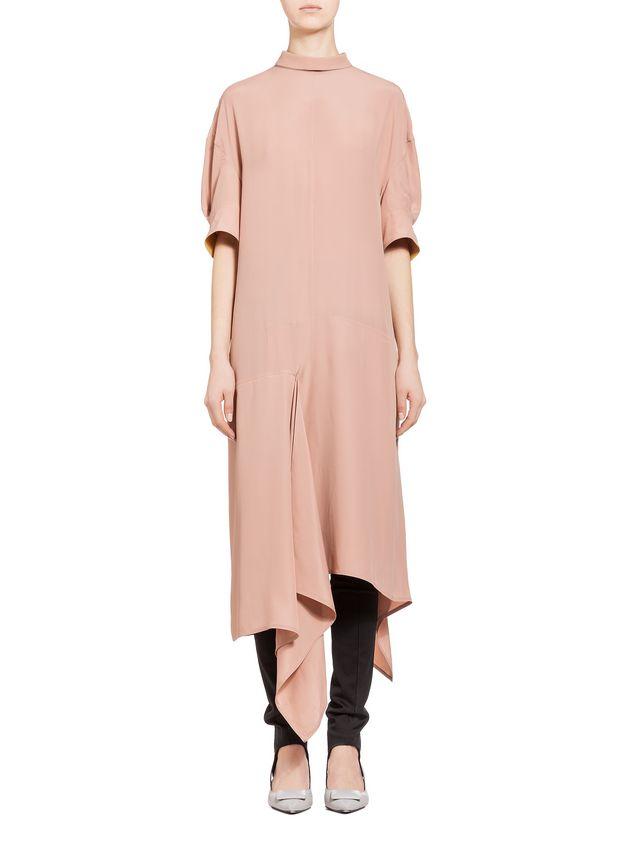 Marni Dress in washed silk acetate Woman - 1