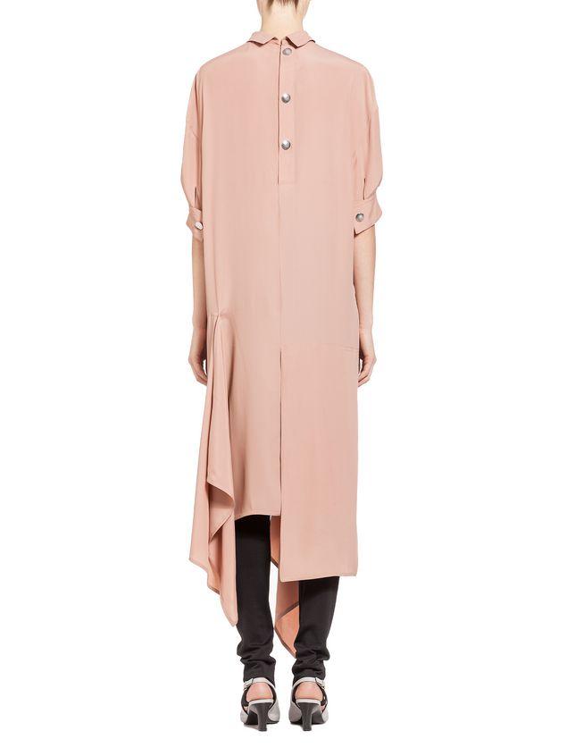 Marni Dress in washed silk acetate Woman - 3