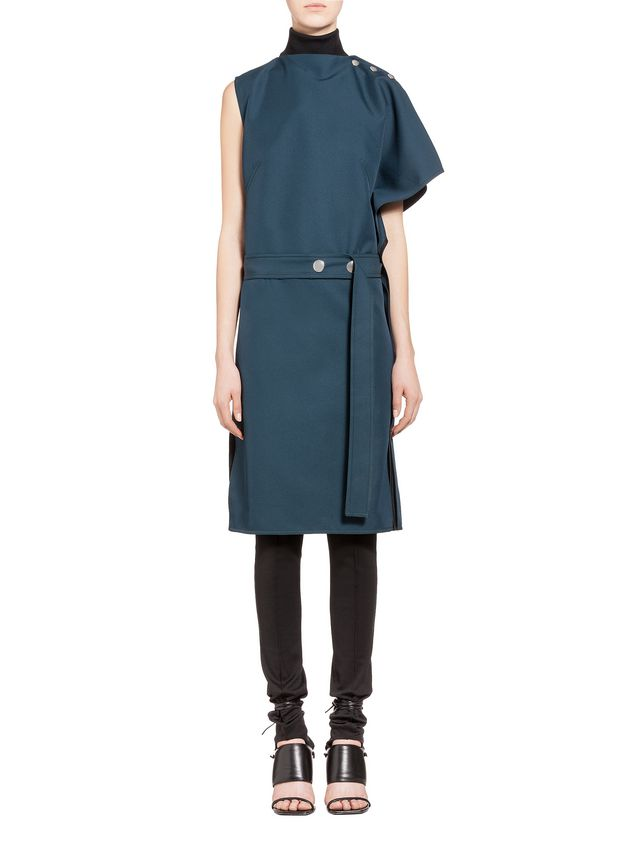 Marni Acetate dress kimono sleeve Woman - 1
