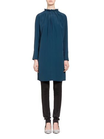 Marni Acetate dress puckered crewneck Woman