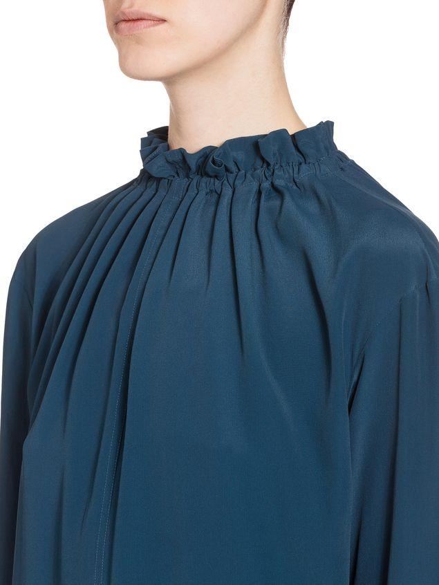 Marni Acetate dress puckered crewneck Woman - 4