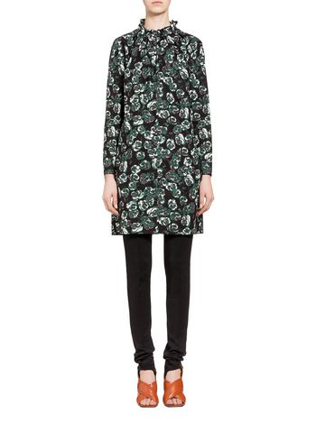 Marni Poplin dress Poetry Flower Woman