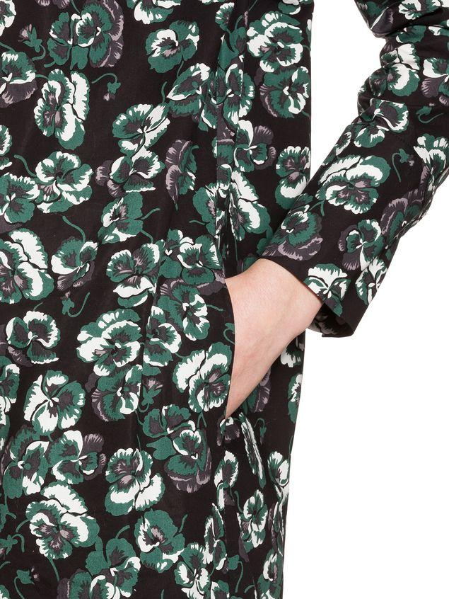 Marni Poplin dress Poetry Flower Woman - 4
