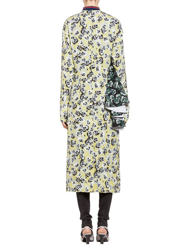 Marni Dress in sablé with Poetry Flower print Woman - 3