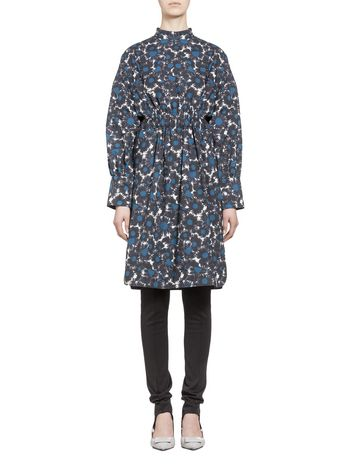 Marni Poplin dress Point Grasses  Woman