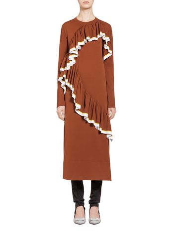 Marni Stocking-stitched nylon dress Woman