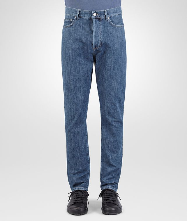 BOTTEGA VENETA PANT IN DENIM WASHED DENIM Trouser or jeans Man fp