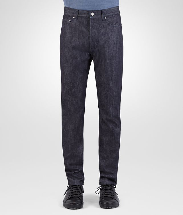 BOTTEGA VENETA PANT IN DARK NAVY DENIM Trouser or jeans Man fp