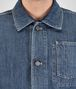 BOTTEGA VENETA BLOUSON IN DENIM WASHED DENIM Coat or Jacket U ap