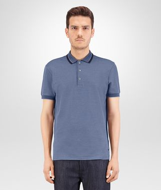 POLO IN DARK NAVY KRIM COTTON PIQUET