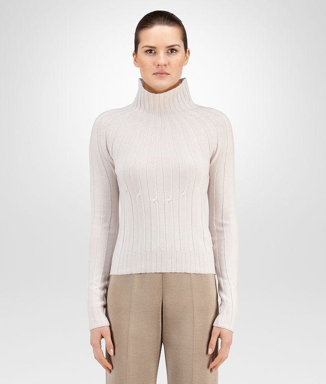 BOTTEGA VENETA CAMEO RIBBED CASHMERE SWEATER Knitwear or Top or Shirt D fp