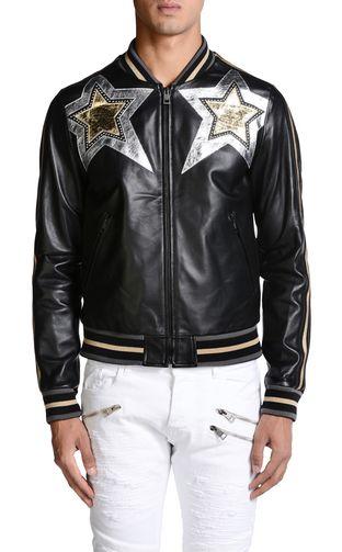 JUST CAVALLI Leather Jacket U f