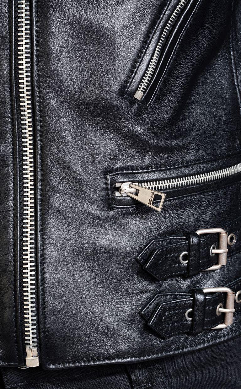 JUST CAVALLI Leather Jacket U a