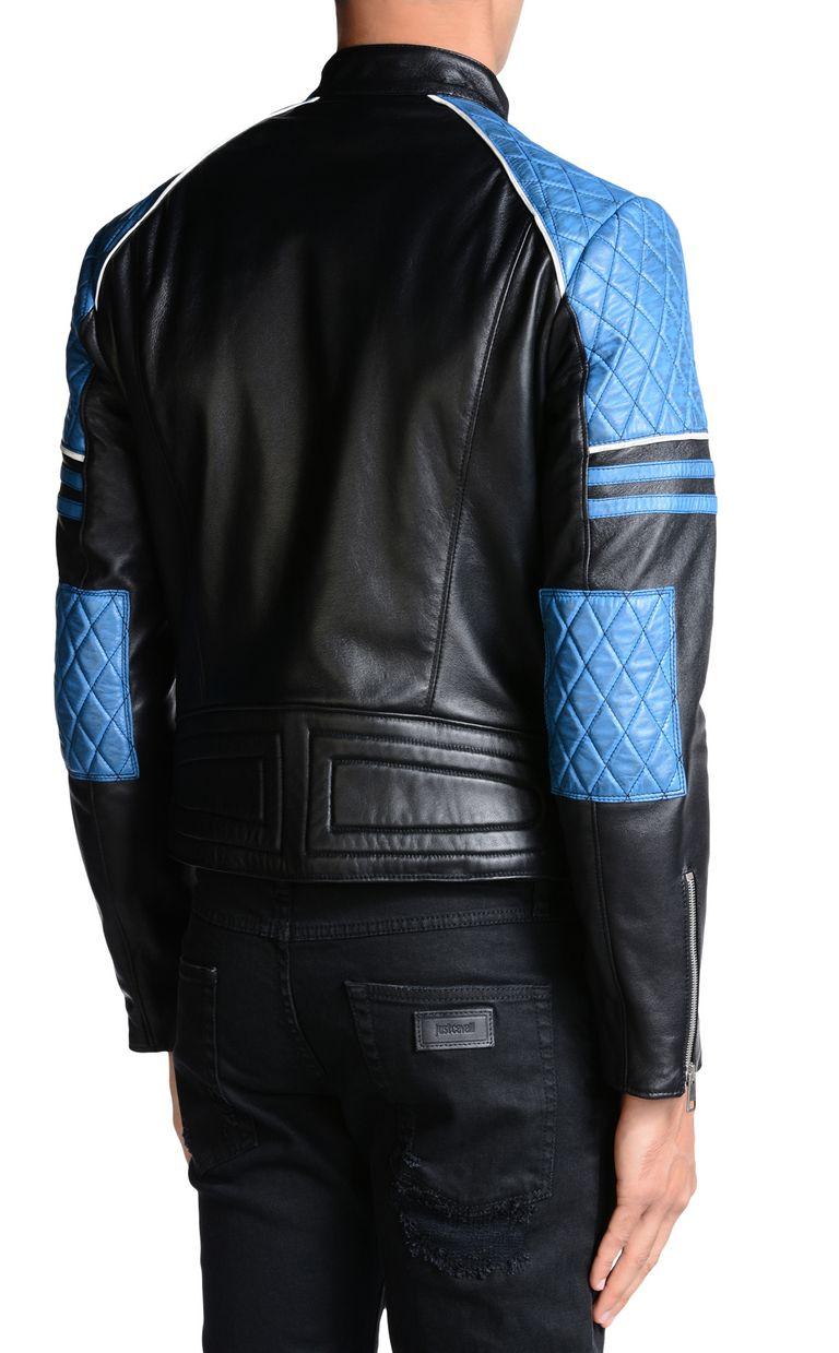 JUST CAVALLI Leather Jacket U d