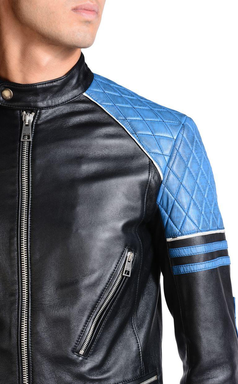 JUST CAVALLI Leather Jacket U e