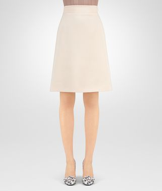SKIRT IN CAMEO WOOL