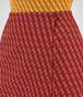 BOTTEGA VENETA DARK TERRACOTTA WOOL JACQUARD SKIRT Skirt or trouser Woman ap