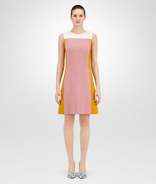DRESS IN MULTICOLOR WOOL
