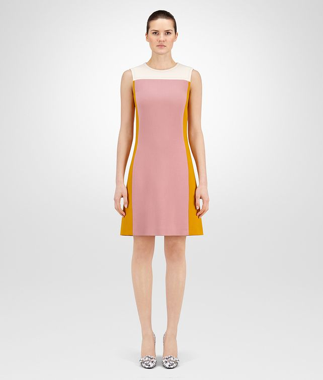 BOTTEGA VENETA DRESS IN MULTICOLOR WOOL Dress D fp