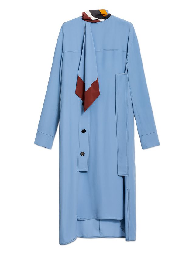 Marni Dress in washed acetate silk Woman - 2