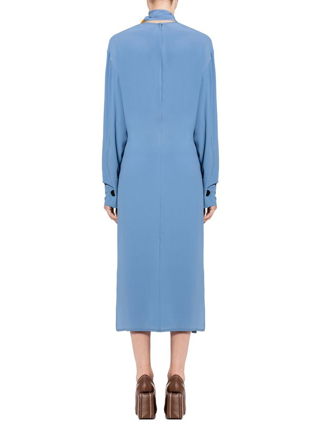 Marni Dress in washed acetate silk Woman - 3
